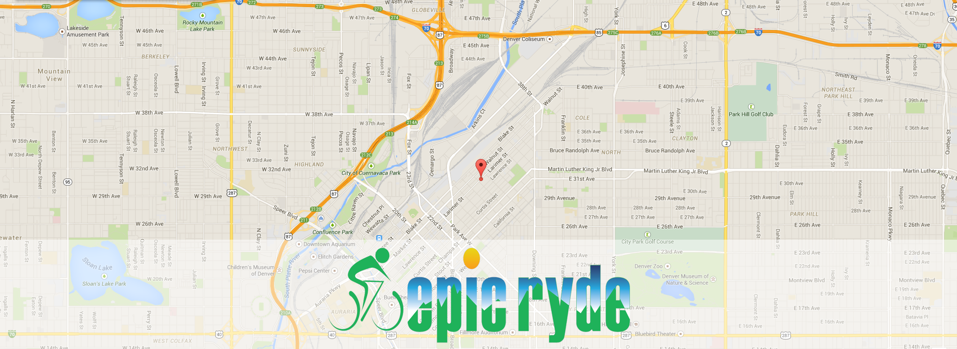 Map to EpicRyde